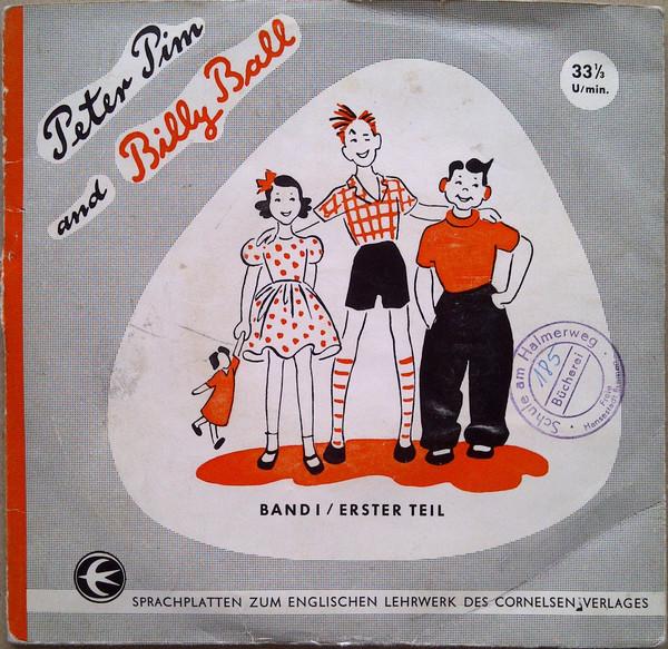 Cover Various - Peter Pim and Billy Ball - BAND I / Erster Teil (3x7, Mono) Schallplatten Ankauf