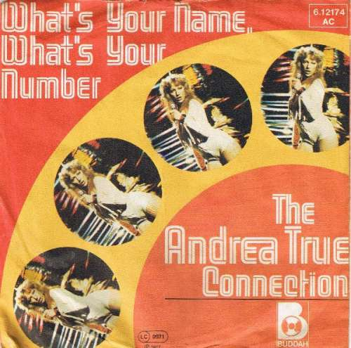 Bild Andrea True Connection - What's Your Name, What's Your Number (7, Single) Schallplatten Ankauf
