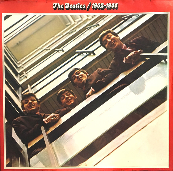 Cover The Beatles - 1962-1966 (2xLP, Comp) Schallplatten Ankauf
