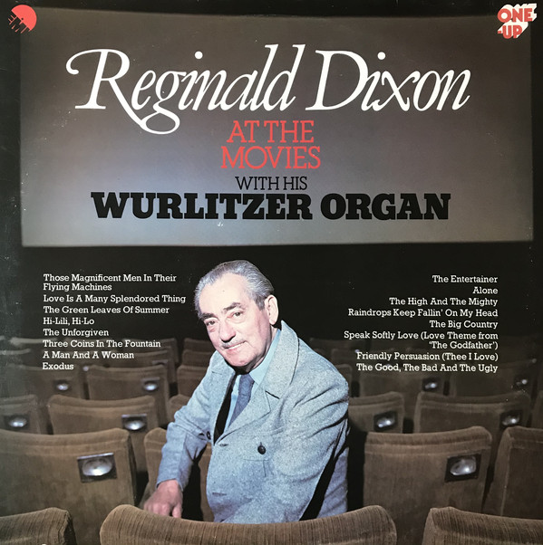 Cover Reginald Dixon - At The Movies (LP) Schallplatten Ankauf