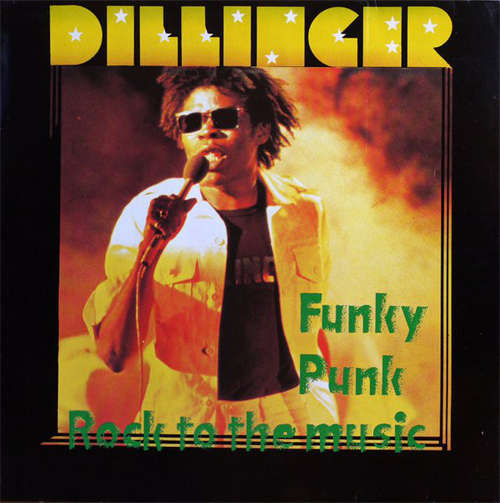 Cover Dillinger - Funky Punk / Rock To The Music (LP, Album, Whi) Schallplatten Ankauf