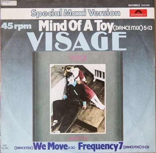 Cover Visage - Mind Of A Toy (12, Maxi) Schallplatten Ankauf