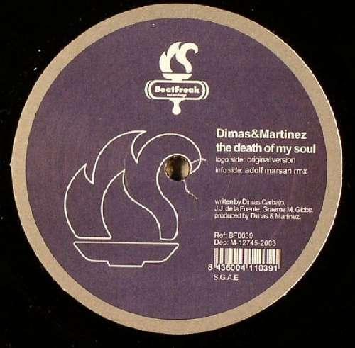 Cover zu Dimas&Martinez* - The Death Of My Soul (12) Schallplatten Ankauf