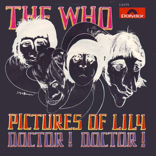 Bild The Who - Pictures Of Lily / Doctor! Doctor! (7, Single) Schallplatten Ankauf