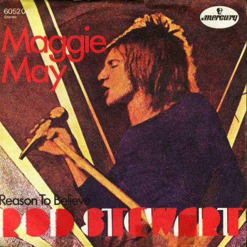 Bild Rod Stewart - Maggie May (7, Single) Schallplatten Ankauf