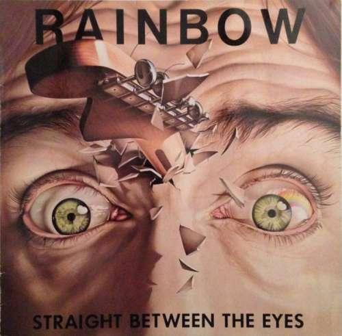 Cover Rainbow - Straight Between The Eyes (LP, Album) Schallplatten Ankauf