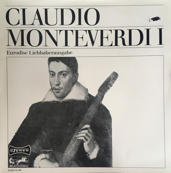 Cover zu Claudio Monteverdi - Claudio Monteverdi I, Eurodisc Liebhaberausgabe (LP, Dlx) Schallplatten Ankauf