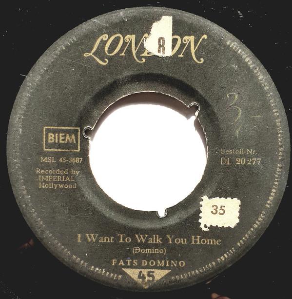 Bild Fats Domino - I Want To Walk You Home / I'm Gonna Be A Wheel Some Day (7, Single, 3-P) Schallplatten Ankauf