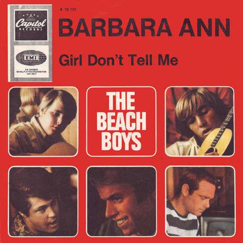 Bild The Beach Boys - Barbara Ann (7, Single) Schallplatten Ankauf