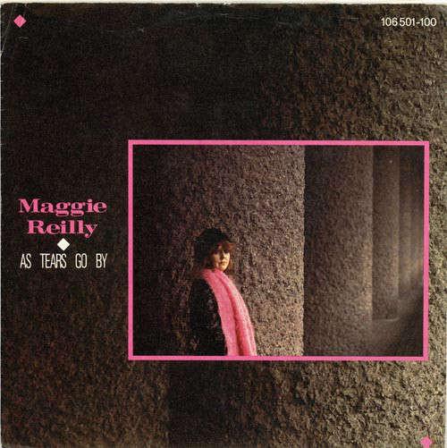 Cover Maggie Reilly - As Tears Go By (7, Single) Schallplatten Ankauf