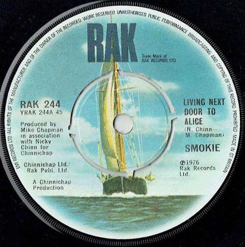 Bild Smokie - Living Next Door To Alice (7, Single) Schallplatten Ankauf