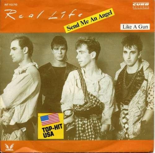 Cover zu Real Life - Send Me An Angel (7, Single) Schallplatten Ankauf