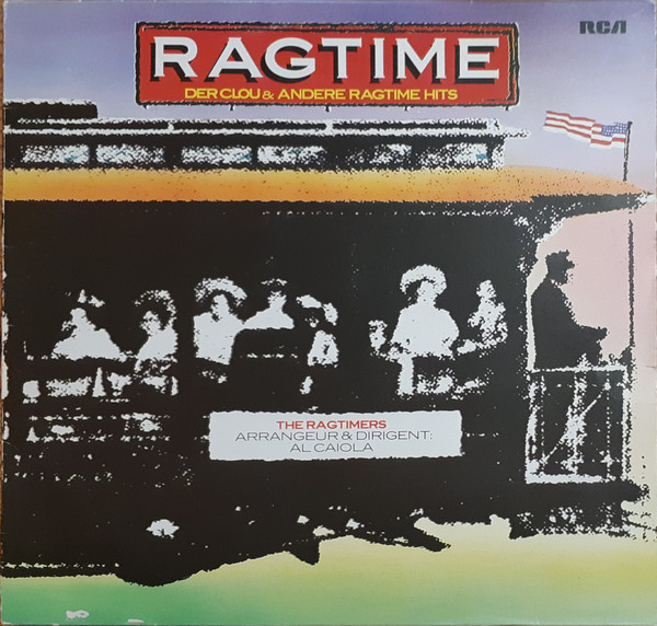 Cover The Ragtimers - Ragtime - Der Clou und andere Ragtime Hits (LP, Comp) Schallplatten Ankauf