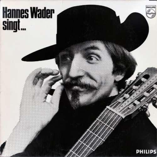 Cover zu Hannes Wader - Singt Eigene Lieder (LP, Album, RP) Schallplatten Ankauf