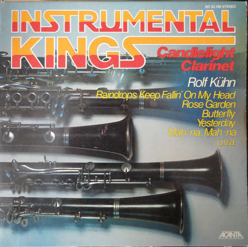 Cover zu Rolf Kühn - Instrumental Kings - Candlelight Clarinet (LP, Album) Schallplatten Ankauf