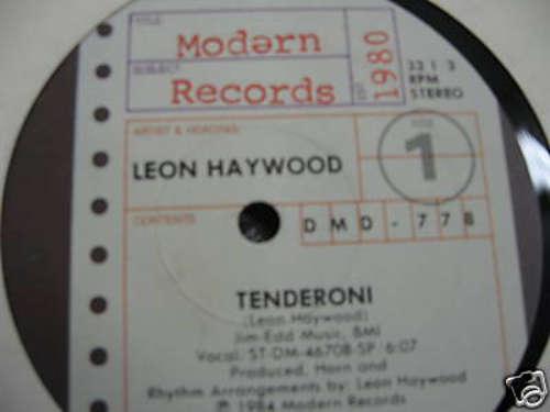 Bild Leon Haywood - Tenderoni (12, Promo) Schallplatten Ankauf