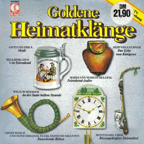 Bild Various - Goldene Heimatklänge (LP, Comp) Schallplatten Ankauf