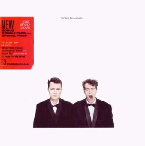 Cover Pet Shop Boys - Actually (LP, Album + 12, Single, Promo + Ltd) Schallplatten Ankauf