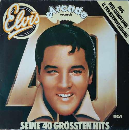 Cover Elvis Presley - Seine 40 Grössten Hits (2xLP, Comp) Schallplatten Ankauf