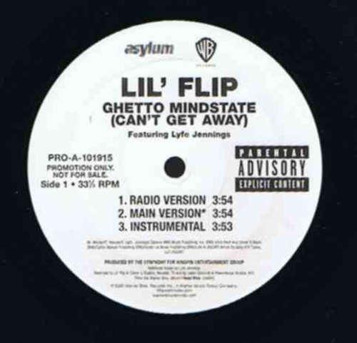 Cover zu Lil' Flip - Ghetto Mindstate (Can't Get Away) (12, Promo) Schallplatten Ankauf