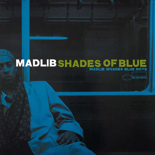 Cover Madlib - Shades Of Blue (2xLP, Album) Schallplatten Ankauf