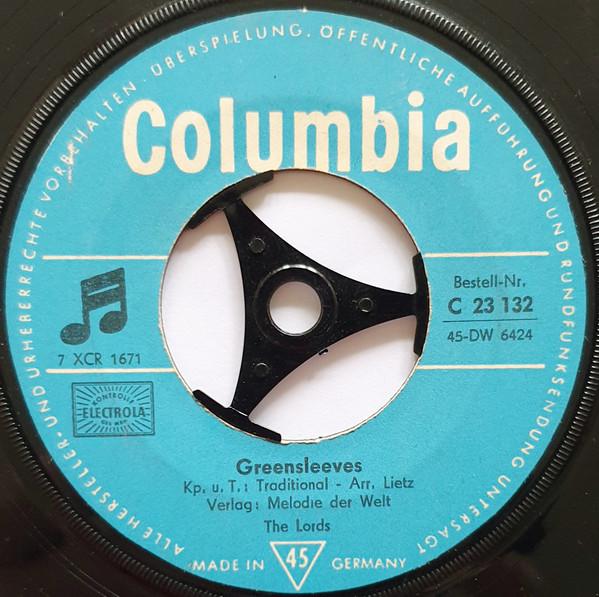 Bild The Lords - Greensleeves / Sing Hallelujah (7, Single) Schallplatten Ankauf