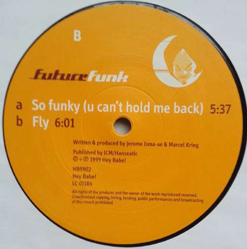 Bild Future Funk - So Funky (You Can't Hold Me Back) (12) Schallplatten Ankauf