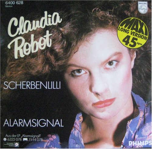 Cover Claudia Robot - Scherbenlilli / Alarmsignal (12, Maxi) Schallplatten Ankauf