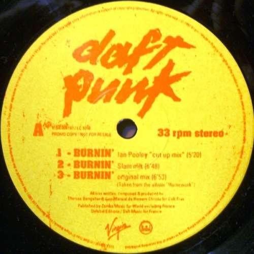 Cover Daft Punk - Burnin' (12, Promo) Schallplatten Ankauf