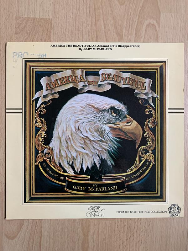 Bild Gary McFarland - America The Beautiful (An Account of Its Disappearance) (LP, Album, RE) Schallplatten Ankauf