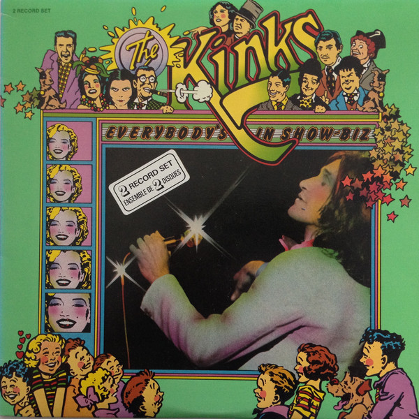 Cover zu The Kinks - Everybody's In Showbiz (2xLP, Album, RE) Schallplatten Ankauf