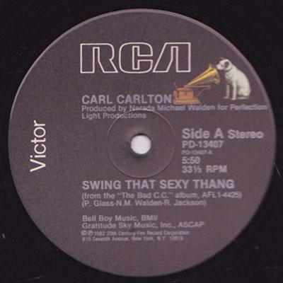 Bild Carl Carlton - Swing That Sexy Thang (12) Schallplatten Ankauf
