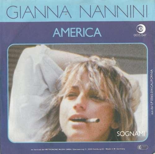 Bild Gianna Nannini - America (7, Single) Schallplatten Ankauf
