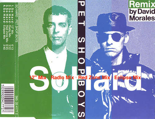 Cover Pet Shop Boys - So Hard (Remix By David Morales) (CD, Maxi) Schallplatten Ankauf