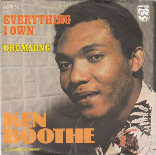 Cover Ken Boothe - Everything I Own (7, Single) Schallplatten Ankauf