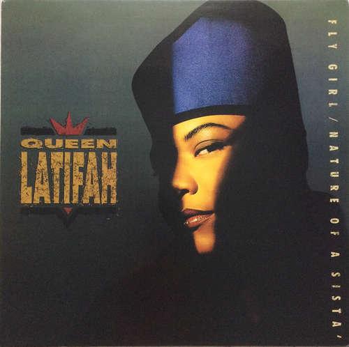 Cover Queen Latifah - Fly Girl / Nature Of A Sista' (12) Schallplatten Ankauf