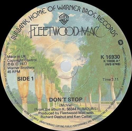 Bild Fleetwood Mac - Don't Stop (7, Single) Schallplatten Ankauf