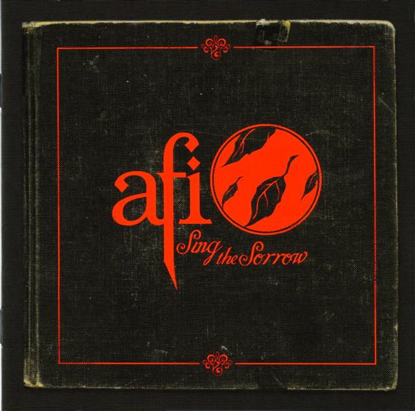 Cover zu AFI - Sing The Sorrow (CD, Album, Enh, Red) Schallplatten Ankauf