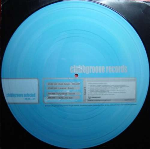 Cover Various - Clubbgroove Selected Vol. 2 (12, Pic) Schallplatten Ankauf