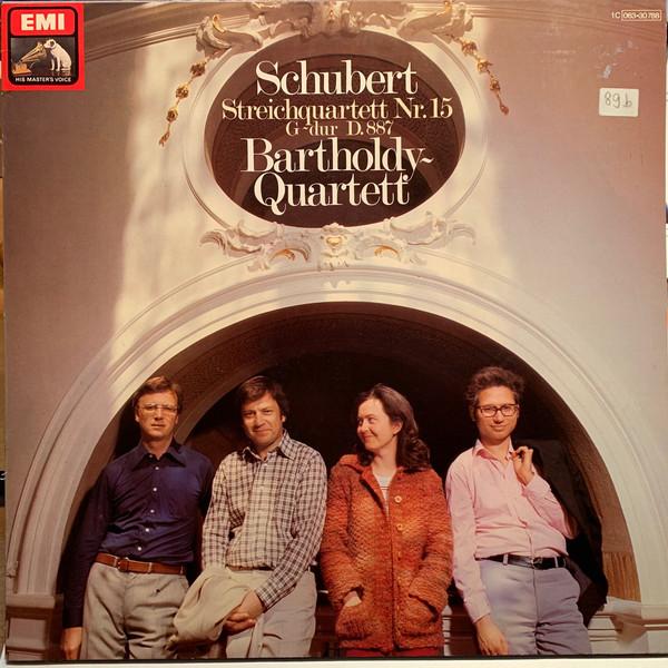 Cover zu Schubert* - Bartholdy Quartett - Streichquartett Nr.15 G-Dur D.887 (LP, Album) Schallplatten Ankauf