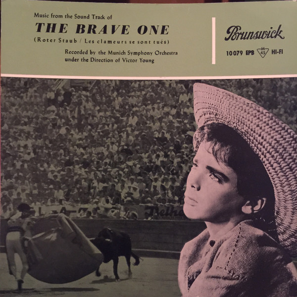 Cover Victor Young, Munich Symphony Orchestra* - The Brave One (7, Single) Schallplatten Ankauf