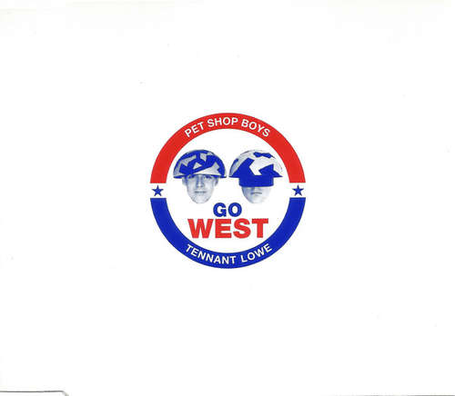 Cover Pet Shop Boys - Go West (CD, Single) Schallplatten Ankauf