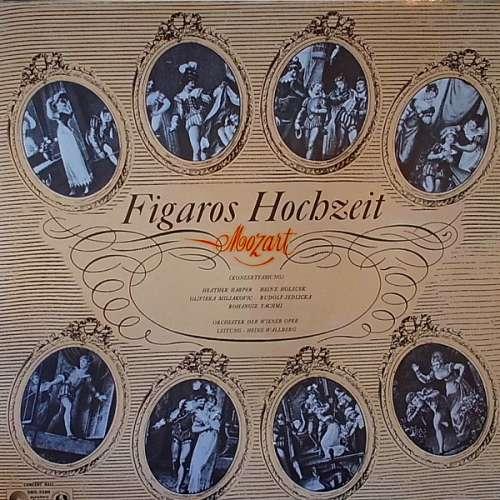 Bild Orchester Der Wiener Oper* Conducted By Heinz Wallberg, Wolfgang Amadeus Mozart - Figaros Hochzeit (Konzertfassung) (LP) Schallplatten Ankauf