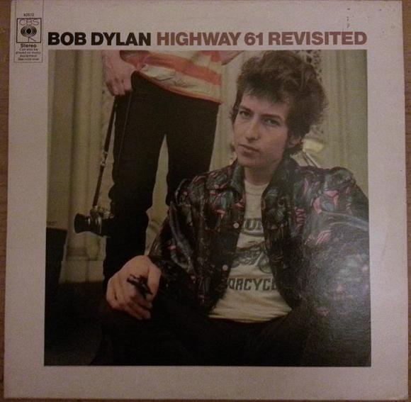 Cover zu Bob Dylan - Highway 61 Revisited (LP, Album, RE) Schallplatten Ankauf