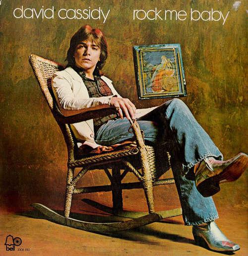 Cover zu David Cassidy - Rock Me Baby (LP, Album, RE) Schallplatten Ankauf