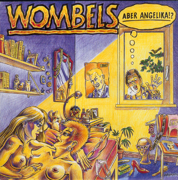 Cover Wombels - Aber Angelika!? (7, EP) Schallplatten Ankauf