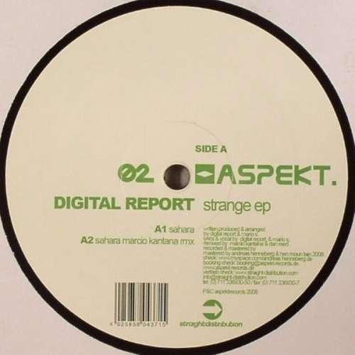 Bild Digital Report - Strange EP (12, EP) Schallplatten Ankauf