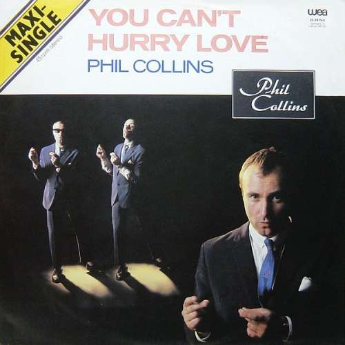 Cover Phil Collins - You Can't Hurry Love (12, Maxi) Schallplatten Ankauf