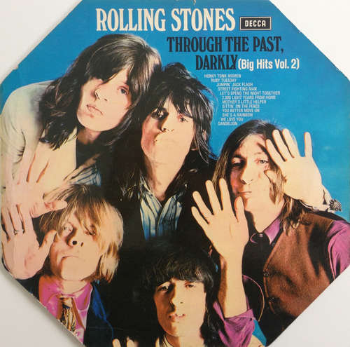 Cover Rolling Stones* - Through The Past, Darkly (Big Hits Vol. 2) (LP, Comp, Ro) Schallplatten Ankauf