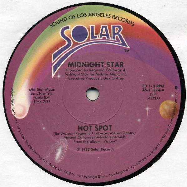 Bild Midnight Star - Hot Spot (12) Schallplatten Ankauf